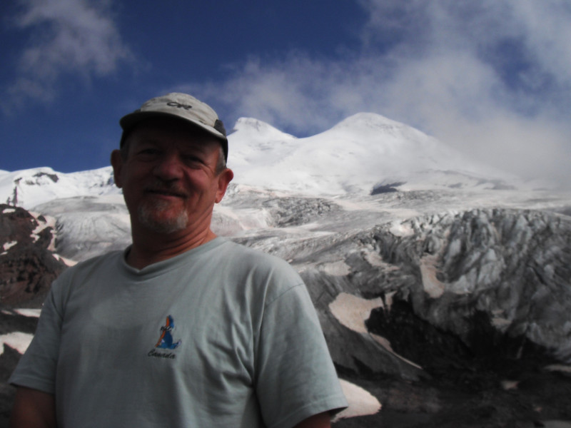 Elbrus was visible.