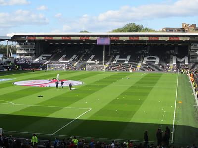 Fulham v Manchester City - Craven Cottage (October 2012)