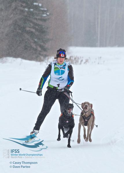 IFSS Women's 2-dog skijor