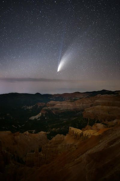 Neowise over Cedar Breaks