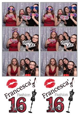 Francesca's Sweet 16