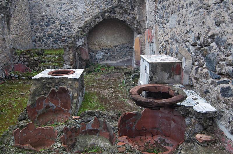 Kitchen at Herculaneum