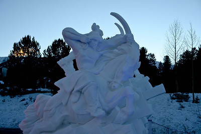 2013 Breckenridge Snow Sculptures
