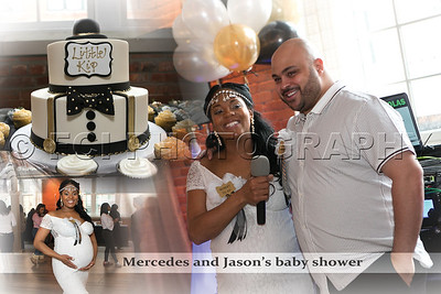 Mercedes and Jason's baby shower