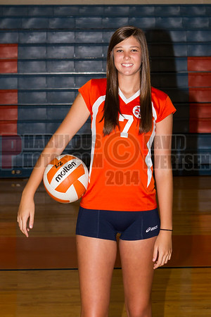 Girls Varsity Volleyball #7 - 2014
