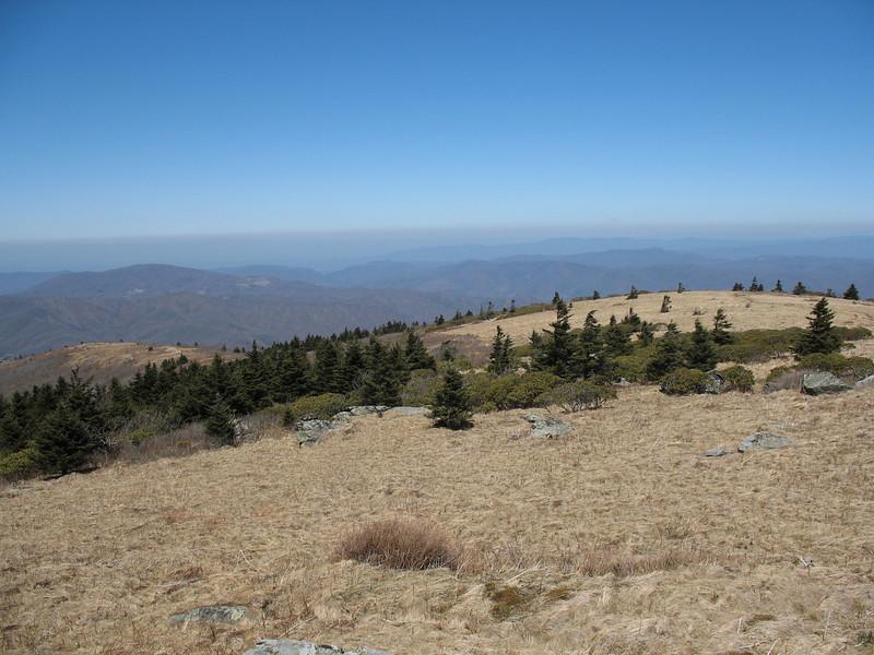 Grassy Ridge Bald Summit - 6,189'