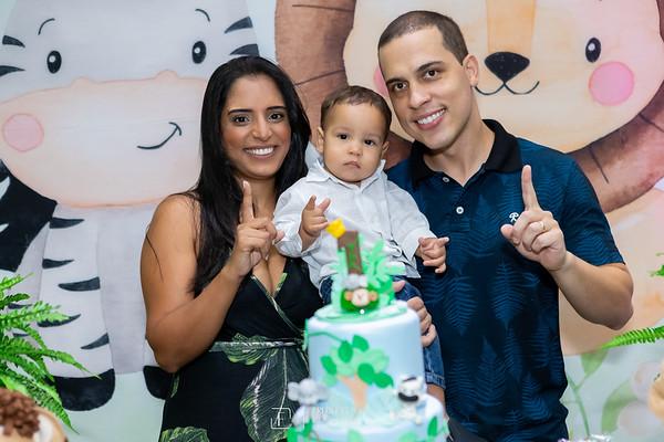 Festa do Safari Baby Aquarelado do Tiago