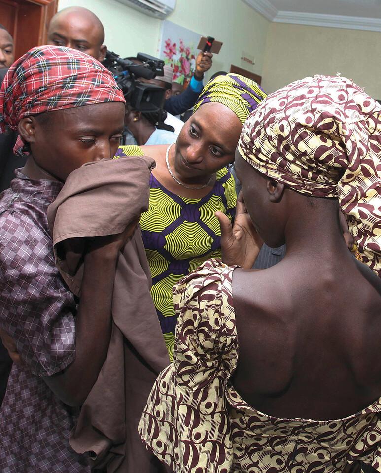 NIGERIA-CHIBOK-RELEASE