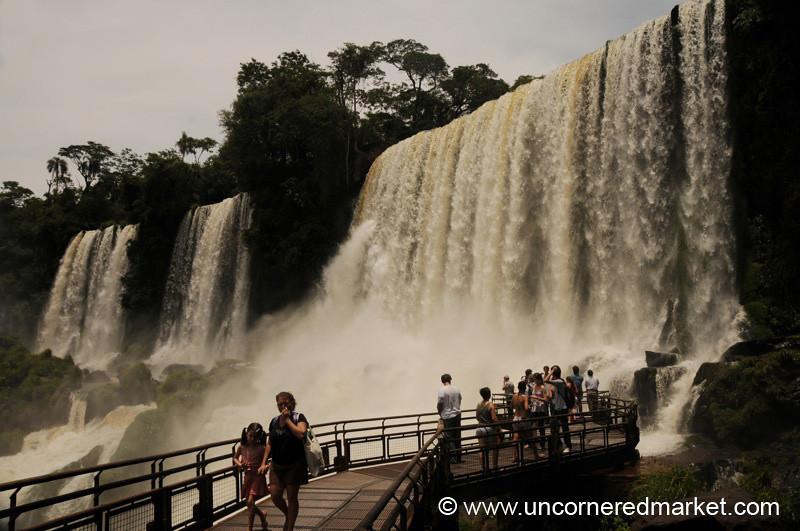Wall of Water - Iguazu Falls, Argentina