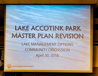 Master Plan Public Meeting  4/30/18