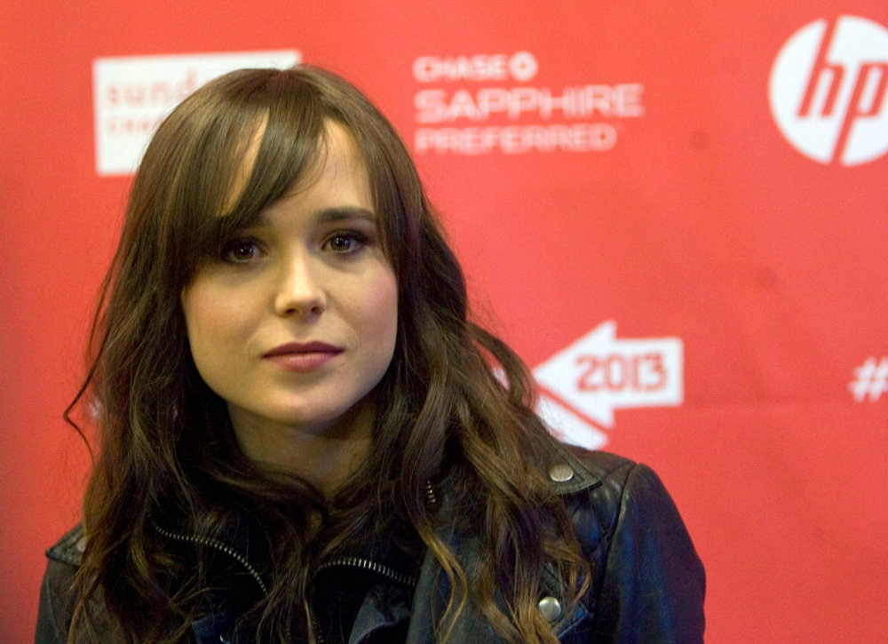 ". Kim Raff  |  The Salt Lake Tribune Actress Ellen Page is photographed on the red carpet for the premiere screening of ""The East\"" at the Eccles Theatre during the Sundance Film Festival in Park City on January 20, 2013."
