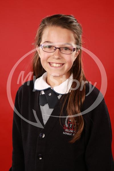 5th Grade Rolling Hills Catholic School Portraits (2015-16)