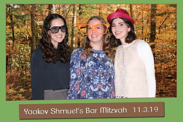 Yaakov Shmuel Shenker Bar Mitzvah