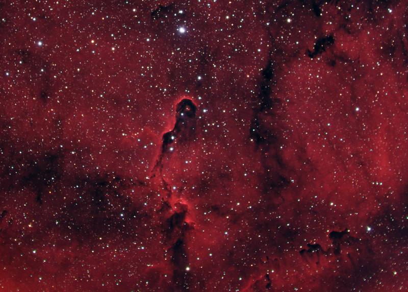 IC 1396 - Elephant's Trunk Nebula - HaRGB Crop