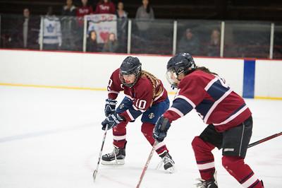 1/11/17: Girls' Thirds Hockey v Millbrook