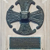 Baptistry - replica of a Saxon Cross 1932 <br> from Friends of Canterbury Cathedral