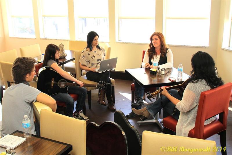 Jesse Mast, Stephanie Lloyd, Melody Lovejoy, Rylee Madison, Dahlia Wakefield - Songwriting Workshop
