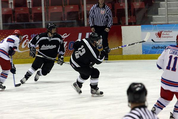 Bridgton Academy vs. Springfield Pics Jan 23, 2009 @ Northwood Tournament