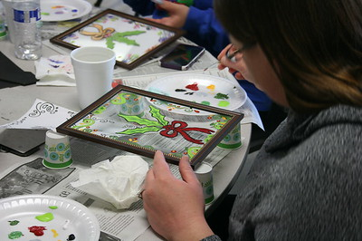 Holiday Glass Painting