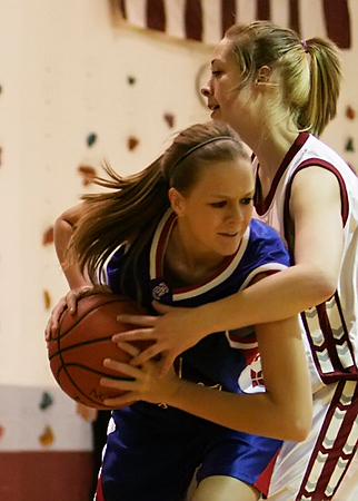 TCHS Girls Basketball vs SN 2008