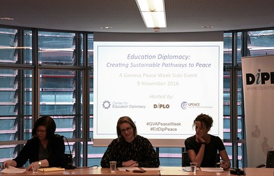 Education Diplomacy: Creating Sustainable Pathway to Peace, Nov 2016
