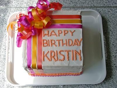 Kristin's Birthday Party 2004