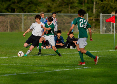Game Set two: Vashon Island High School Boys Varsity Soccer v Charles Wright - Nisqually League Championship
