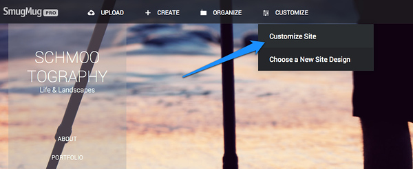 Build a Custom Website on SmugMug