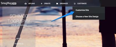 Build a Custom Website on SmugMug