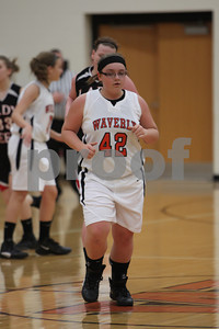 WHS Girls Basketball vs South Webster 1-26-12