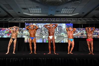 Men's Bodybuilding Masters 70+ & 80+