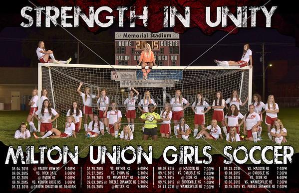 Milton Union Girls Soccer 2015