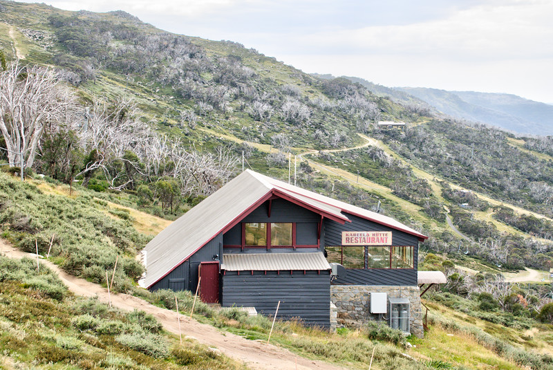 Schi-Hütte on MtKosciuszko