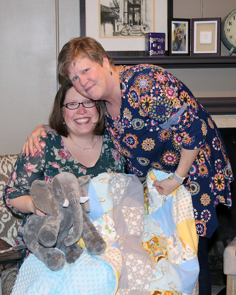 1-13-18 Dana's Baby Shower and house pictures