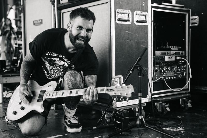 Tony Pizzuti on Vans Warped Tour 2016
