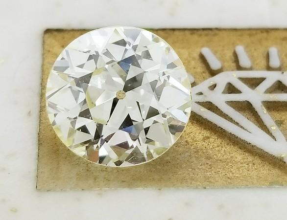 2.94ct Old European Cut Diamond - AGS O, VS1