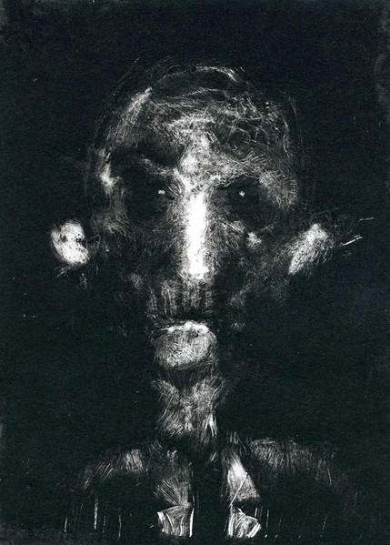 Francis, monoprint