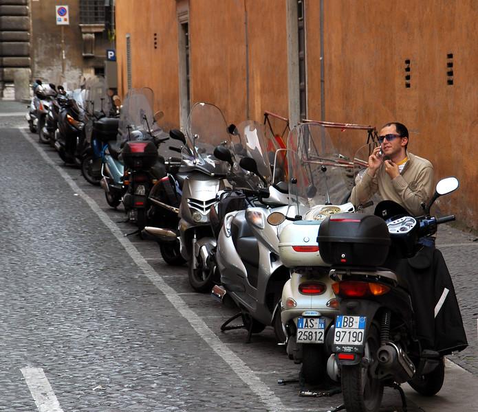 Typical Italian scene