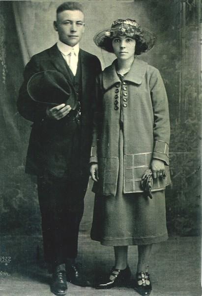Joseph et Éva (Gagnon) Lariviere
