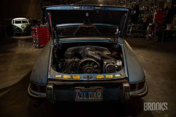 Blue Porsche - Borbon Fabrications