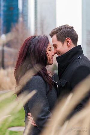 Boston Christopher Columbus Park Engagement: Melody & Max