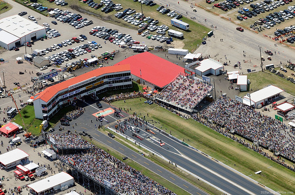 EXCLUSIVE HOUSTON RACEWAY PARK ARIAL PHOTO COVERAGE OF THE 23RD O'REILLY SPRING NATIONALS 4-11-10