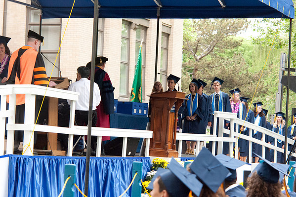 Adam's Whitman graduation