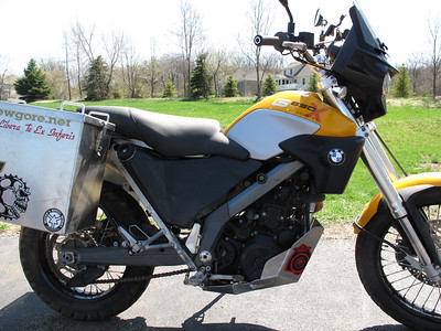 2009 BMW G650xCountry
