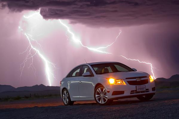 Chevy Cruze Lightning Strikes