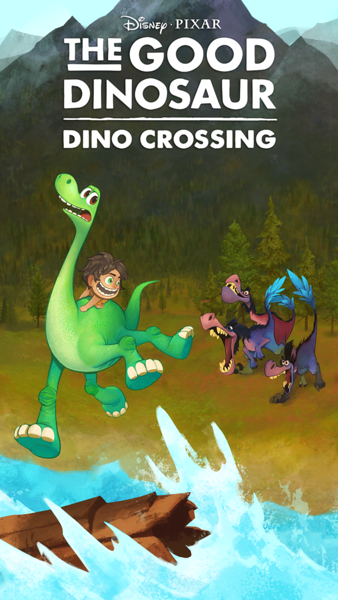 The Good Dinosaur: Dino Crossing Races