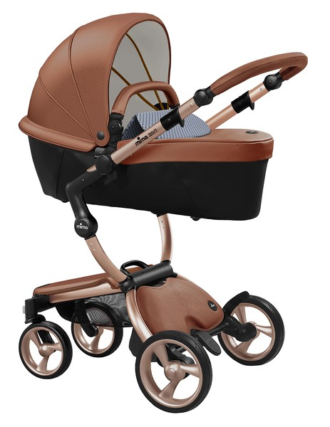 Mima_Xari_Product_Shot_Camel_Flair_Rose_Gold_Chassis_Retro_Blue_Carrycot.jpg
