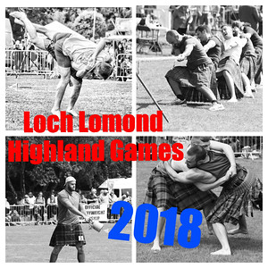 The 2018 Loch Lomond Highland Games