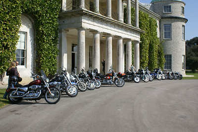 Palmers go to Goodwood House, 15 Apr