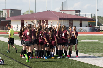 2017 East Junior High Ladies Soccer